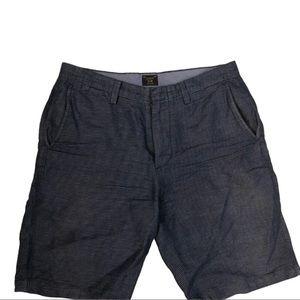 J. Crew Blue Stripe Shorts (32x10.5)